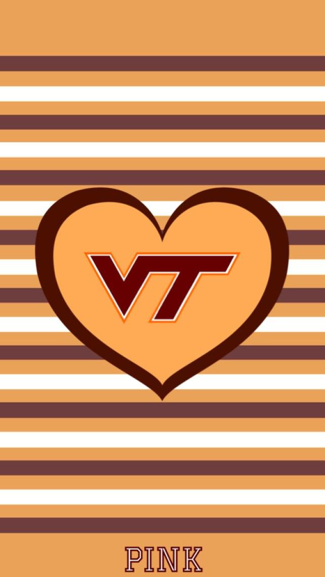 cute Virginia Tech graphic