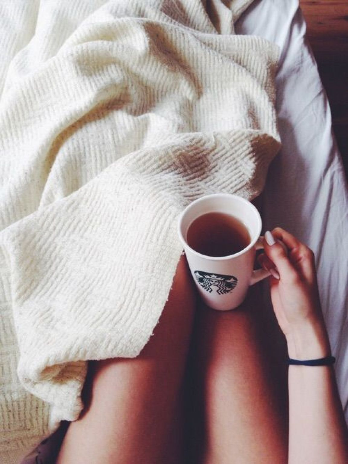 cozy with Starbucks