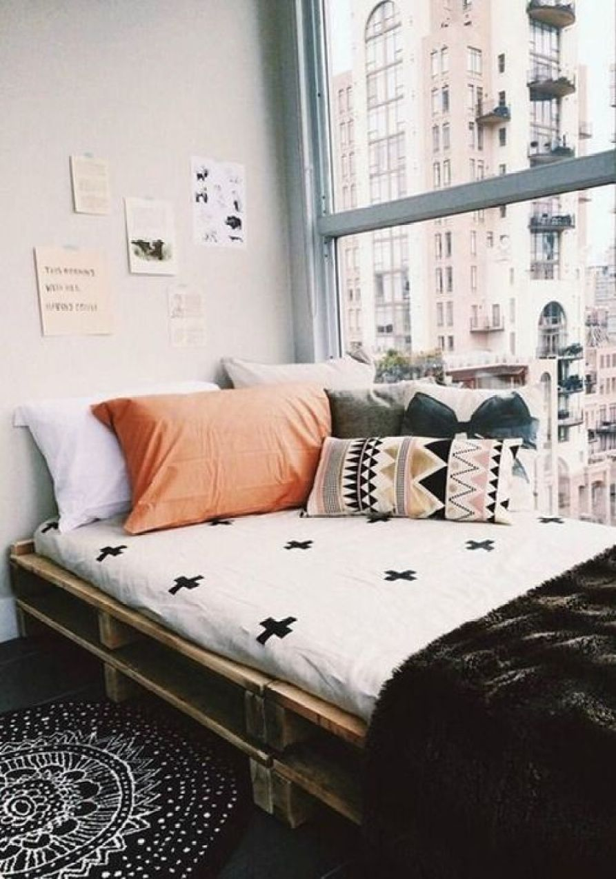 Make your own bed risers - They Re Like Little Platforms Which Raise Your Bed Enough To Give You Prime Space Underneath Some Even Come With Outlets You Can Usually Find Them In The