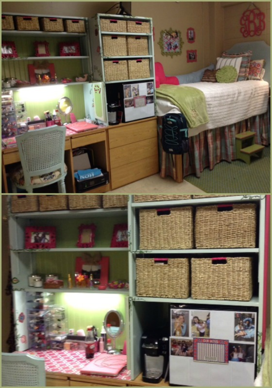 Organized and cute ole miss dorm rooms!