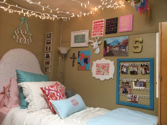 Wall art for ole miss dorm rooms!