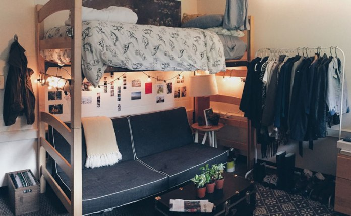Amazing dorm hacks for college life and dorm living that will help you out so much! These are trips and tricks that you'll wish you knew way sooner!