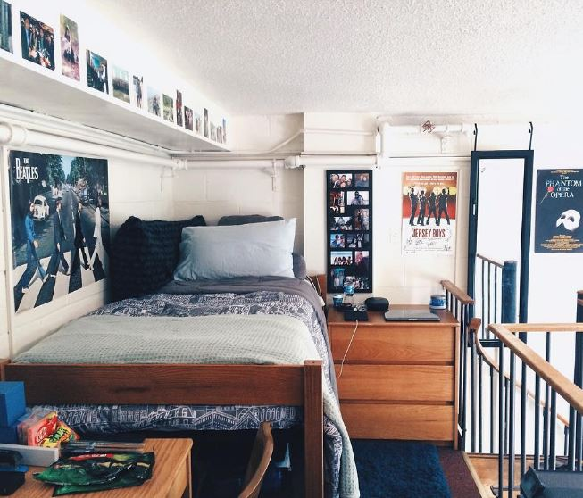 ... Your Dorm, Thus Becoming The Focal Point Of The Room. Build Your Bed  With A Comforter And An Assortment Of Pillows To Show Off Your Own Personal  Style. Part 82