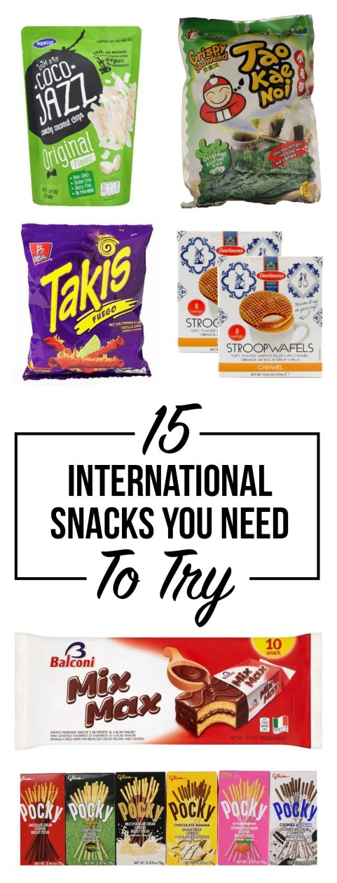 These international snacks are so good you NEED to try them!