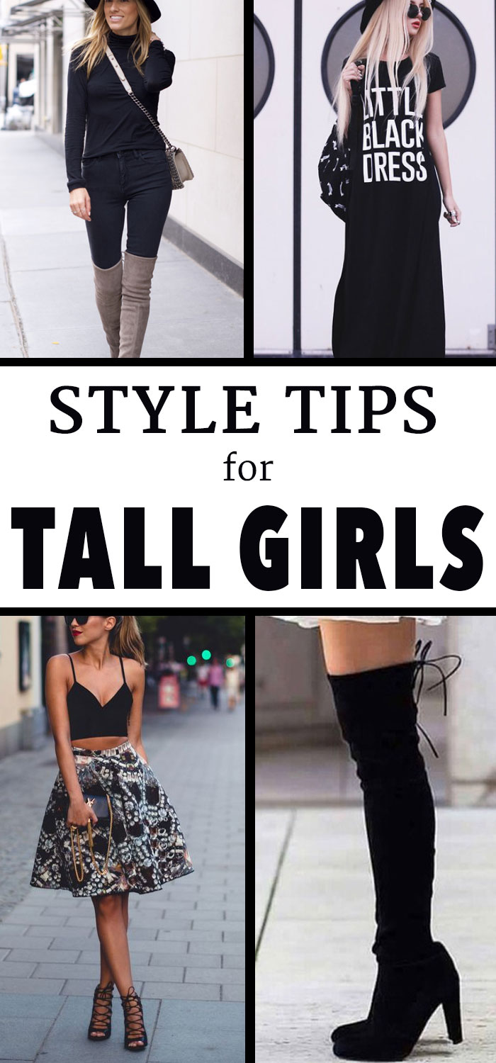 tall girls style, 20 Style Tips For Tall Girls