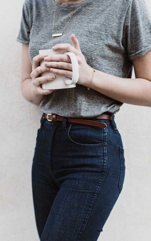 This basic casual outfit is so cute