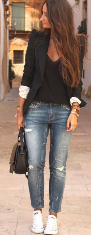I love this jeans outfit!