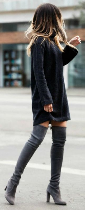 Fall sweaters - sweater dress