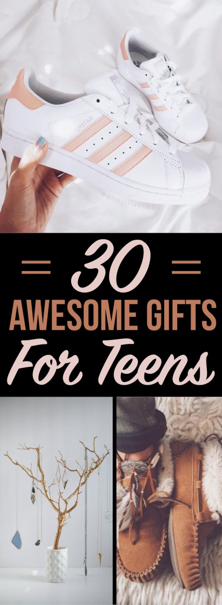 These are awesome gift ideas for teens that you know they will actually love!