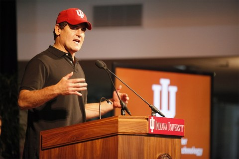 Have you ever seen Mark Cuban party at IU?