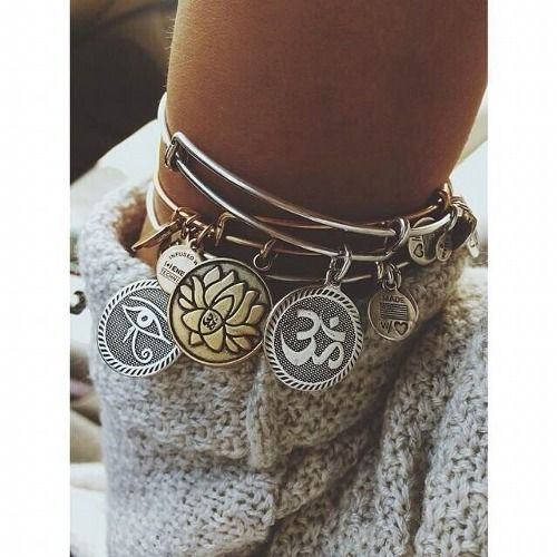 This Alex and Ani daughter bracelet will be the perfect special accessory.