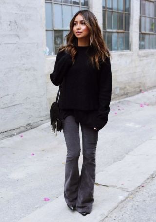 Flared Jeans are the perfect fall fashion item!