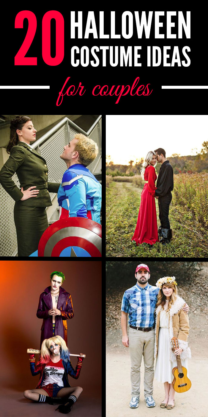what better way to do so than with adorable and easy couples costumes keep reading for 20 of the best couples halloween costume ideas