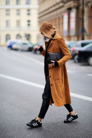 Suede coats are the perfect fall fashion item!