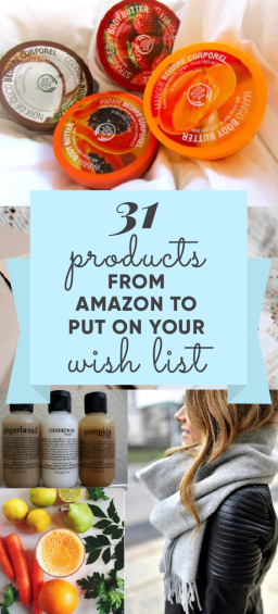 these amazon products need to be on your wishlist this year!
