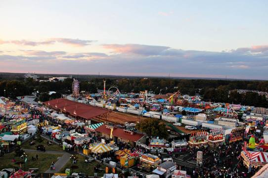 Is the NC State Fair on your list of date ideas around NC State?