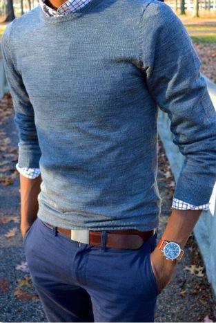 A good watch can pull an outfit together.
