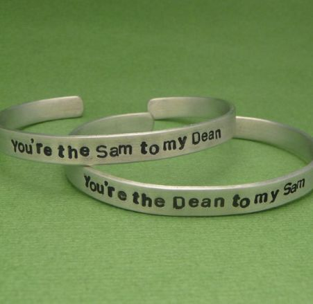 Give this to your best friend to share your love of Sam and Dean from Supernatural.