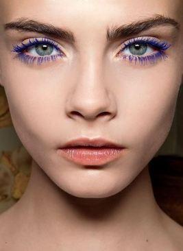I love this purple eyeliner