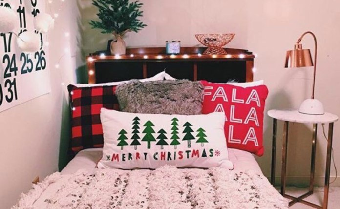 Dorm looking a little drab this holiday season? Check out this list of 20 cheap and festive items to decorate your dorm this Christmas!