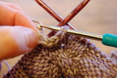 If you crochet, you can make a very special gift for a special someone!