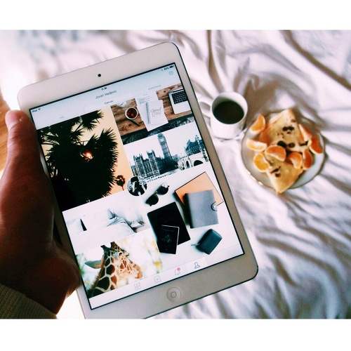 This iPad is perfect for staying in touch with loved ones.