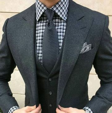 A good suit is a must.