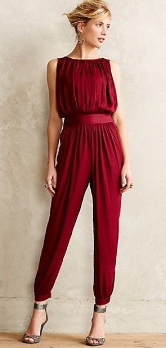 This jumpsuit is perfect for the holidays!
