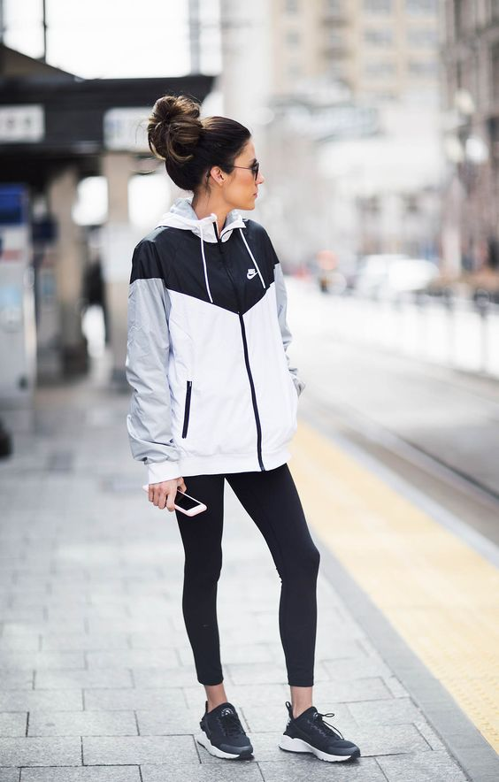 I love activewear for a quick and easy outfit!