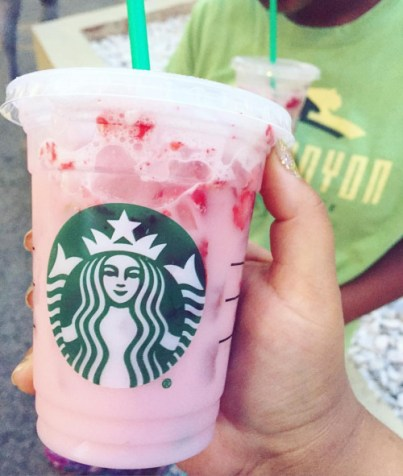 Starbucks Pink Drink is so good from the secret menu!