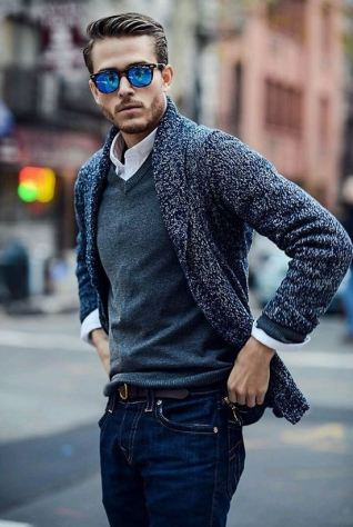 These knit cardigans are perfect for fall.
