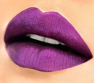 This bright metallic raving matte color by Milani is gorgeous!