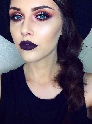 This deep purple Transylvania color by NYX is amazing!