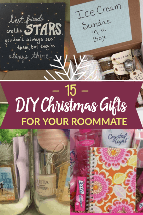 15 DIY Gifts for your roommate