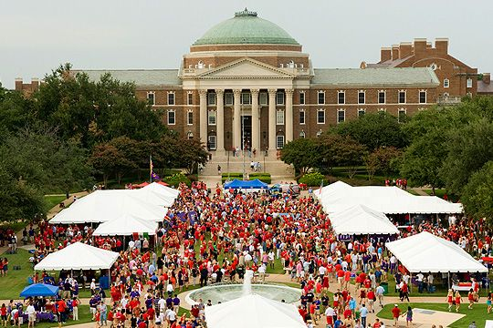 Southern Methodist University often hosts free events for students.
