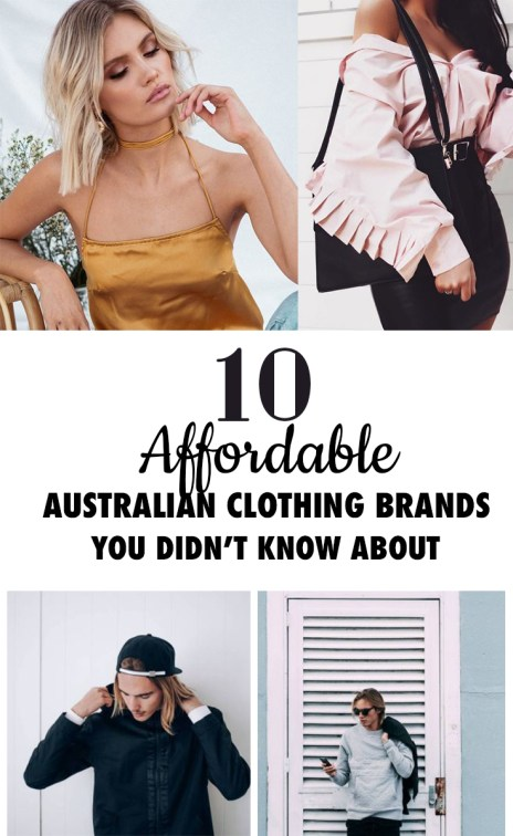 these australian clothing brands are amazing!