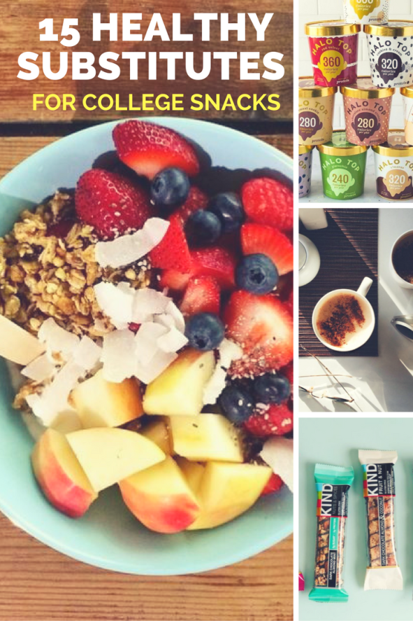 15 Healthy Substitutes for College Snacks