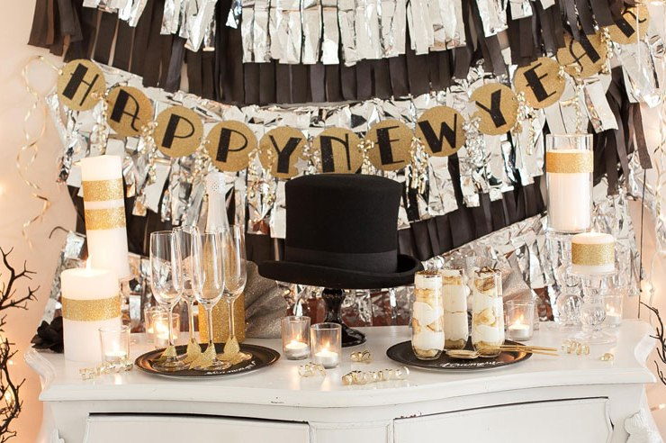 Proof that you don't have to go out to have a great time! We have pulled together a list of 15 ideas for celebrating New Year's Eve at home.