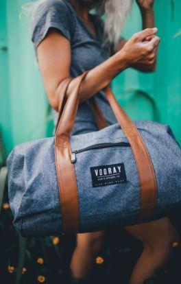 I love this gym duffel bag!