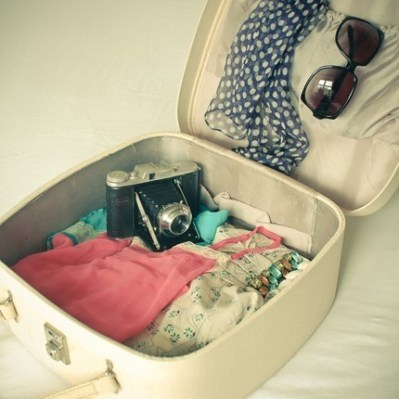 Rolling your clothes is a great method for how to pack for spring break in a carry on!