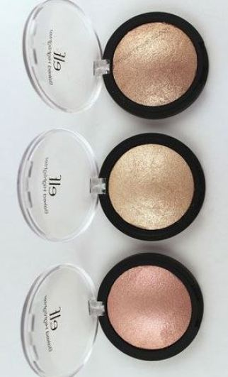 these elf cosmetics baked blush and highlighters are gorgeous!