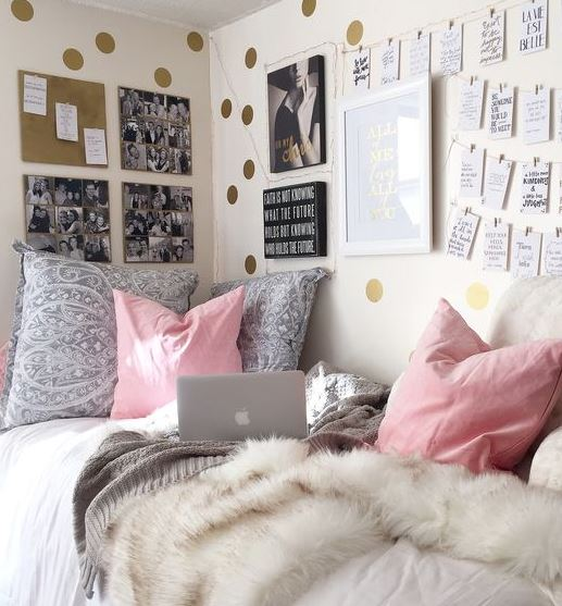 Charming This Is One Of The Cutest Dorm Room Ideas For Girls! Part 3