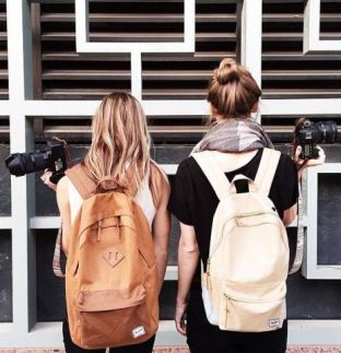These Herschel backpacks are so cute!