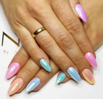 Round Up Of The 50 Prettiest Almond Nails On Pinterest