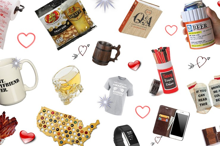 Cute Valentine's Day gifts for him and for every stage of the relationship! Cheap and affordable options that are funny, creative and unique gift ideas!