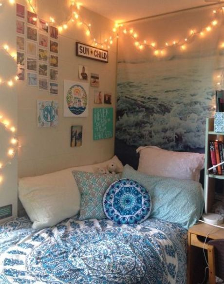 50 cute dorm room ideas that you need to copy society19 for Cute dorm bathroom ideas