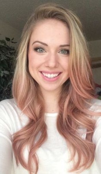 21 Rose Gold Hairstyles That Are Total Hair Goals Society19