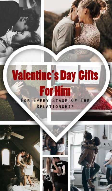 These are such cute Valentine's day gifts for him!
