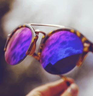 Colorful round cheap sunglasses