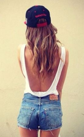 backless bodysuits and tanks are perfect for summer outfits!